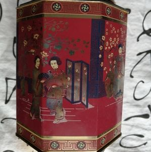Other - Geisha Motif Canister
